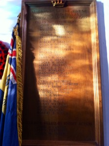 Second World War Memorial Board