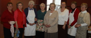 The Ladies of the Benefice of Loftus, Carlin How & Skinningrove who provided the post-service hospitality.
