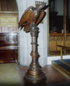 The Wooden Eagle Lectern of 1900