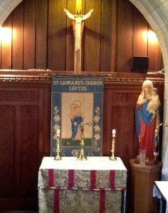 The Lady Chapel at St Leonard's Loftus