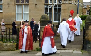 Palm Sunday Procession from Loftus Town Hall to St Leonard's Church 2014
