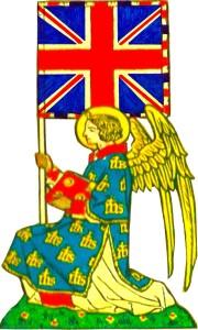 Angel & Flag