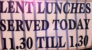 Lent Lunch