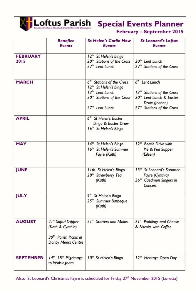 Planner feb-sept 2015
