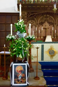 The Easter Candle 2016 at Saint Leonard's Loftus